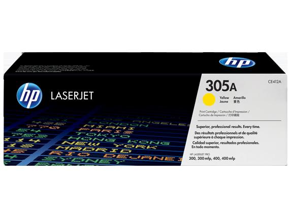 Tóner HP LaserJet CE412A