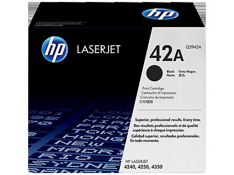 Tóner HP LaserJet Q5942A