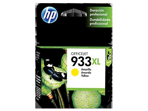 Tinta HP 933XL Cartucho de Inyección de Tinta Amarillo