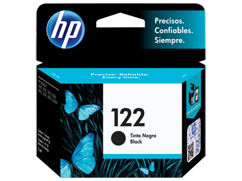 Tinta HP 122 Cartucho de Inyección de Tinta Negro