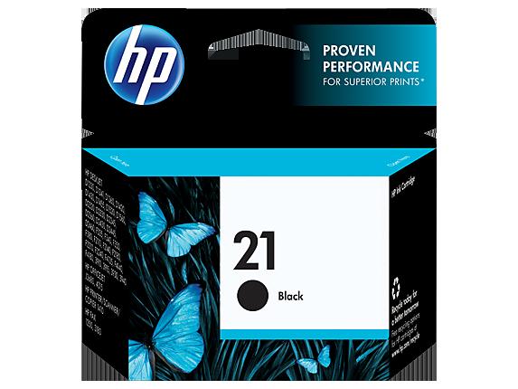 Tinta HP 21 Cartucho de Inyección de Tinta Negro