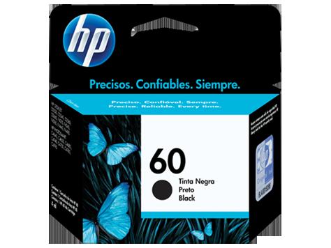 Tinta HP 60 Cartucho de Inyección de Tinta Negro
