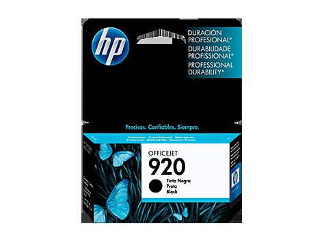Tinta HP Officejet 920XL Cartucho de Inyección de Tinta Negro (alto volumen)