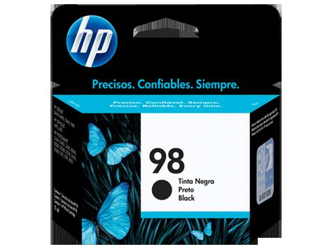 Tinta HP 98 Cartucho de Inyección de Tinta Negro