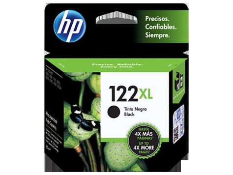 Tinta HP 122XL Cartucho de Inyección de Tinta Negro