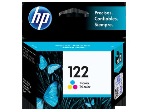 Tinta HP 122 Cartucho de Inyección de Tinta Tricolor