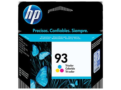 Tinta HP 93 Cartucho de Inyección de Tinta Tricolor