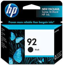 Tinta HP 92 Cartucho de Inyección de Tinta Negro