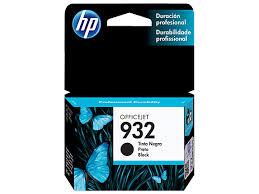 Tinta HP 932 Cartucho de Inyección de Tinta Negro
