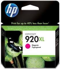 Tinta HP Officejet 920XL Cartucho de Inyección de Tinta Magenta (alto volumen)