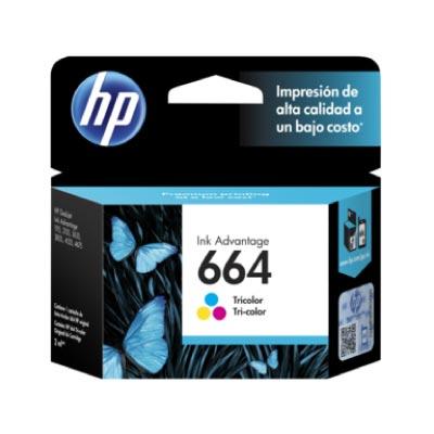 Tinta HP 664 Cartucho de Inyección Tricolor