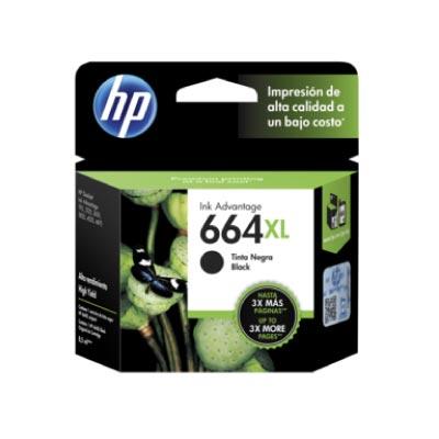 Tinta HP 664XL Cartucho De Inyección Negro