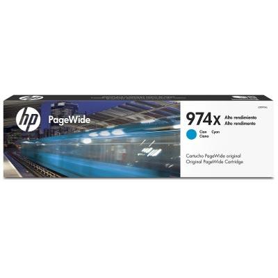 Cartucho Original Pagewide HP 974x de Alta Capacidad Cyan