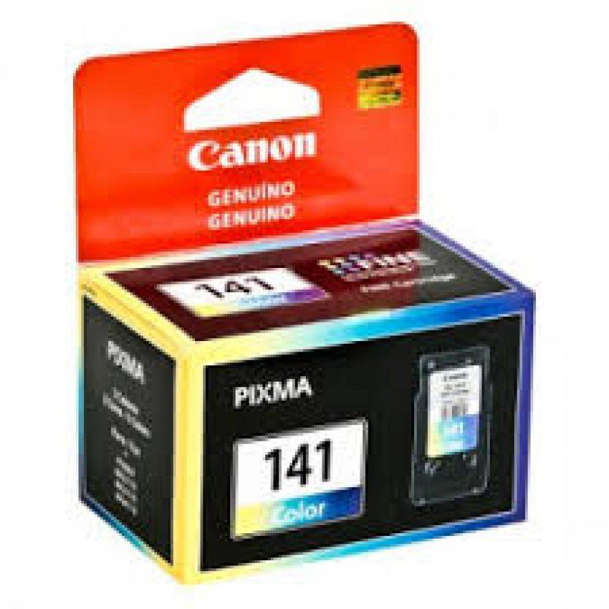 Canon CL-141 Cartucho de Inyección de Tinta Tricolor