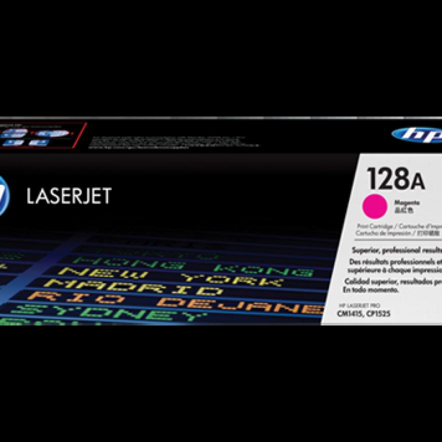 Cartucho original de tóner magenta HP 128A Laserjet (CE323A)
