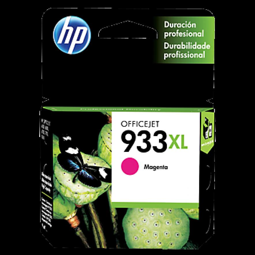 Cartucho original de tinta magenta de alto rendimiento HP 933XL