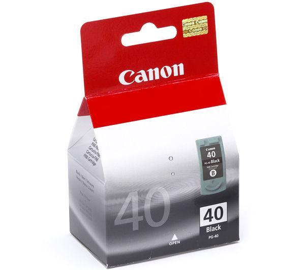 Canon PG-40 Cartucho de Inyección de Tinta Negra