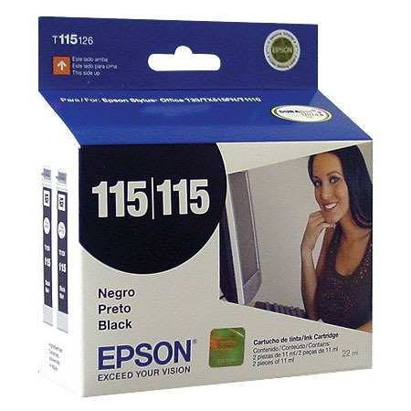 Epson T115126 Cartucho de Inyección de Tinta Negra