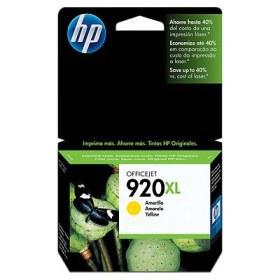 Tinta HP Officejet 920XL Cartucho de Inyección de Tinta Amarillo (alto volumen)