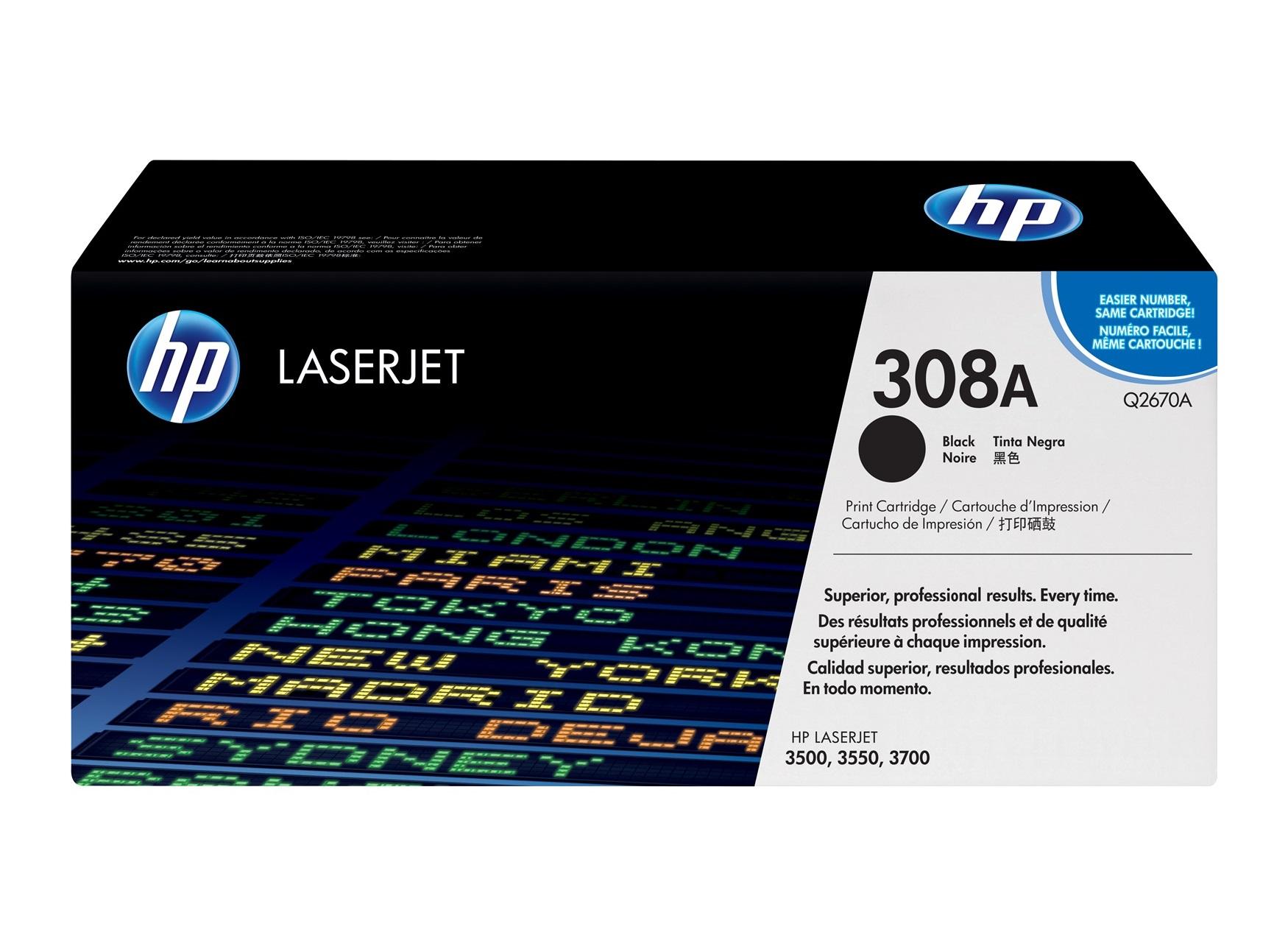 Tóner HP Color LaserJet Q2670A