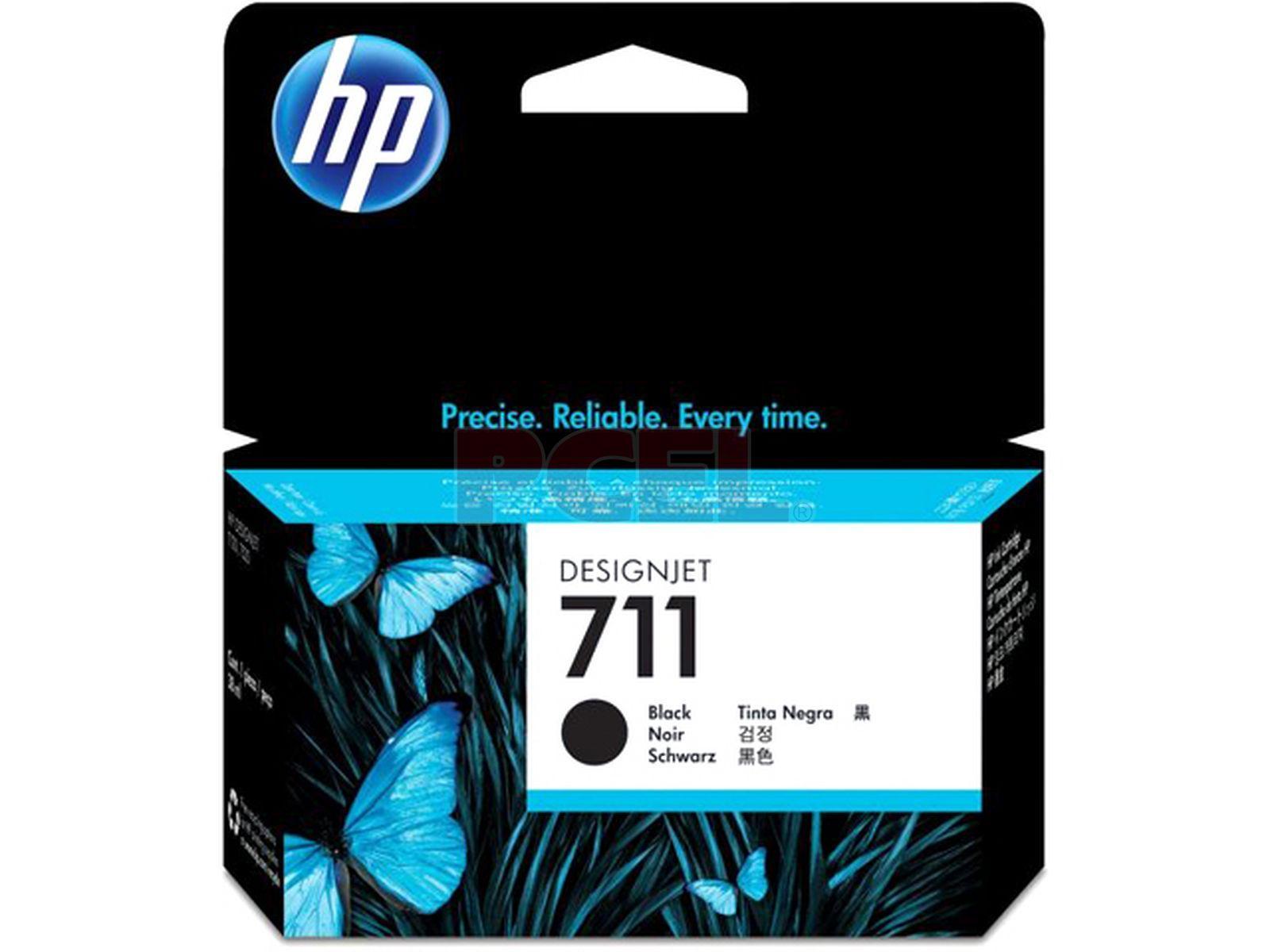 Tinta HP 711 Cartucho de Inyección de Tinta Negro