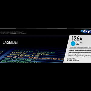 Cartucho-original-de-tóner-cian-HP-126A-LaserJet-CE311A