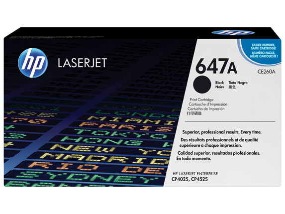 Tóner HP Laserjet CE260A
