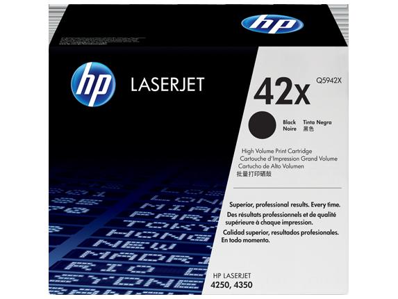 Tóner HP LaserJet Q5942X