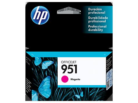 Tinta HP 951 Cartucho de Inyección de Tinta Magenta