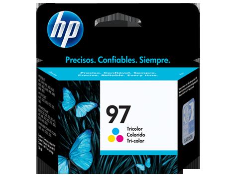 TintaHP 97 Cartucho de Inyección de Tinta Tricolor