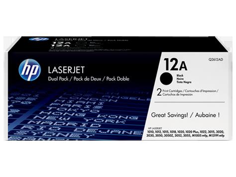 Tóner HP LaserJet Q2612AD