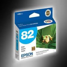 Epson T082220 Cartucho de Inyección de Tinta Cian