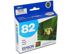 Epson T082520 Cartucho de Inyección de Tinta Cian Claro