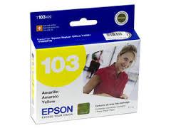 Epson T103420 Cartucho de Inyección de Tinta Amarilla