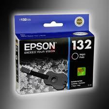 Epson T132120 Cartucho de Inyección de Tinta Negra
