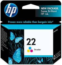 Tinta HP 22 Cartucho de Inyección de Tinta Tricolor