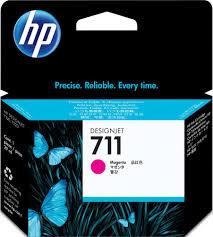 Tinta HP 711 Cartucho de Inyección de Tinta Magenta